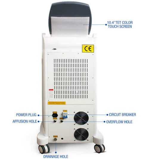 High quality SHR E-light IPL hair removal machine