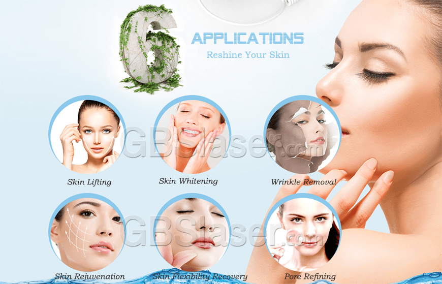 Applications of RF home use beauty machine