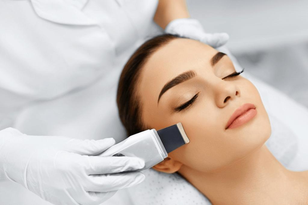 water dermabrasion vs. ultrasound peeling