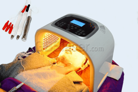 quantum light LED photo therapy treatment result